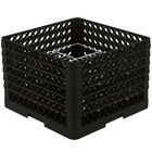 Vollrath PM2011-6 Traex Black 20 Compartment Plate Rack - 10 3/4