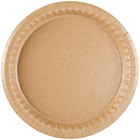 Solut 29020 9 inch Coated Kraft Paper Plate - 100/Pack