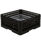 Vollrath PM3208-3 Traex® Plate Crate Black 32 Compartment Plate Rack - Holds 4 3/4 inch to 7 5/8 inch Plates