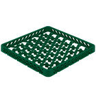 Vollrath TRM-19 Traex® Full-Size Green 42 Compartment Glass Rack Extender