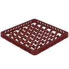 Vollrath TRM-21 Traex® Full-Size Burgundy 42 Compartment Glass Rack Extender