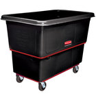 Rubbermaid FG472700BLA Black 27 Cu. Ft. Utility Cube Truck (1200 lb.)
