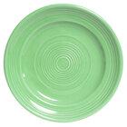 Tuxton Concentrix CTA-074 Cilantro 7 1/2 inch China Plate 24/Case