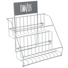 Novus 4 Over 4 Tea Rack / Merchandiser