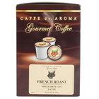 Caffe de Aroma French Roast Coffee Single Serve Cups   - 24/Box