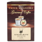 Caffe de Aroma Sumatra Blend Coffee Single Serve Cups - 24/Box