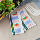 9 Gram Ranch Dressing Portion Packets - 200/Case
