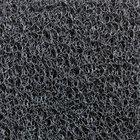 Cactus Mat 1451M-G46 Vinyl-Coil 4' x 6' Gray Scraper Mat - 3/8