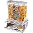 Cal-Mil 3401-55 Urban Stainless Steel 3 Bin Cereal Dispenser