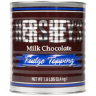 HERSHEY'S® Milk Chocolate Fudge Topping - #10 Can
