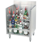 Advance Tabco CRLR-24 Stainless Steel Liquor Display Cabinet - 24 inch x 21 inch