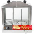Avantco HDS-200 200 Dog / 48 Bun Hot Dog Steamer - 120V, 1300W