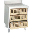 Advance Tabco CRCR-24-CT Corrugated Top Glass Rack Storage Unit