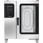 Convotherm C4ED10.10GB Half Size Natural Gas Combi Oven with easyDial Controls - 129,700 BTU