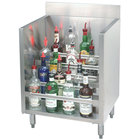Advance Tabco CRLR-30 Stainless Steel Liquor Display Cabinet - 30 inch x 21 inch