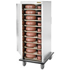 Alluserv VL2024S Value Line Stainless Steel 24 Tray Meal Delivery Cart