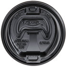Dart Solo OPT316B Black Optima Lid with Reclosable Tab   - 1000/Case