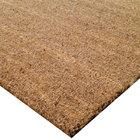 Cactus Mat 800R-78 Cocoa Brush 6 1/2' x 40' Natural Tan Scraper Floor Roll - 5/8 inch Thick