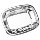 Eastern Tabletop 9341 11 1/2 inch x 8 inch Stainless Steel Bread Tray