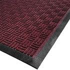 Cactus Mat 1426M-R35 Water Well II 3' x 5' Parquet Carpet Mat - Burgundy