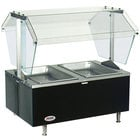Eagle Group CDHT2 Two Pan Deluxe Service Mates Tabletop Hot Food Buffet Table - 120V