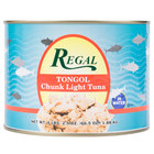 Regal Foods Tongol Chunk Tuna 66.5 oz.   - 6/Case