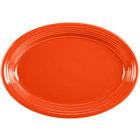 Homer Laughlin 458338 Fiesta Poppy 13 5/8 inch Platter   - 12/Case