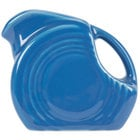 Homer Laughlin 475337 Fiesta Lapis 5 oz. Mini Disc Creamer Pitcher - 4/Case