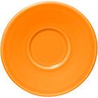 Homer Laughlin 293325 Fiesta Tangerine 6 3/4 inch Jumbo Saucer - 12 / Case