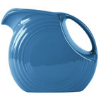 Homer Laughlin 484337 Fiesta Lapis 2.1 Qt. Large Disc Pitcher - 2/Case