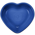Homer Laughlin 747337 Fiesta Lapis 9 oz. Heart Bowl - 4/Case