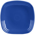 Homer Laughlin 920337 Fiesta Lapis 9 1/4 inch Square Luncheon Plate - 12/Case