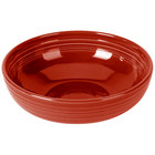 Homer Laughlin 1459326 Fiesta Scarlet 68 oz. Large China Bistro Bowl - 4/Case