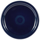 Homer Laughlin 749105 Fiesta Cobalt Blue 9 inch Round Healthcare Plate - 12 / Case