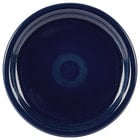 Homer Laughlin 749105 Fiesta Cobalt Blue 9 inch Round Healthcare Plate - 12/Case