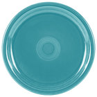 Homer Laughlin 749107 Fiesta Turquoise 9 inch Round Healthcare Plate - 12/Case