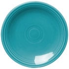 Homer Laughlin 463107 Fiesta Turquoise 6 1/8 inch Round Bread and Butter Plate - 12 / Case
