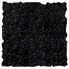 Elite Global Solutions QS2424 Rocky Mountain High Black Granite 23 3/4 inch Square Shape Riser Platter