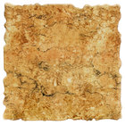 Elite Global Solutions QS2424 Fo Granite Rust Granite 23 3/4 inch Square Shape Riser Platter