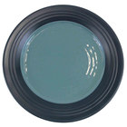 Elite Global Solutions D897GM Durango 9 inch Abyss & Lapis Round Two-Tone Melamine Plate