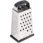 Tablecraft SG203BH 6 inch 4-Sided Heavy-Duty Stainless Steel Box Grater