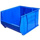 Metro MB30283B Blue Stack Bin 20 inch x 18 3/8 inch x 12 inch