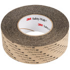 3M 610 2 inch X 60' Safety-Walk General Purpose Black Slip-Resistant Tape - 2/Case