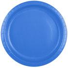 Creative Converting 50145B 10 inch True Blue Paper Plate - 24/Pack