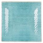 Carlisle 6402215 Grove 10 1/2 inch Aqua Square Melamine Plate - 12/Case