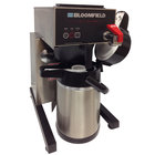 Bloomfield 1082AFL E.B.C. Automatic Low Profile Airpot Coffee Brewer - Touchpad Controls, 120V