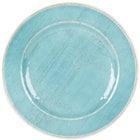 Carlisle 6400115 Grove 11 inch Aqua Round Melamine Dinner Plate - 12 / Case
