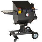 R & V Works FF3-R-SS 8.5 Gallon Stainless Steel Outdoor Cajun Deep Fryer - 90,000 BTU