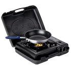 Portable 3-Piece Cooking Kit with Single Burner Butane Range, Fry Pan, and Pan Grip