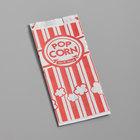 Carnival King 3 1/2 inch x 2 1/4 inch x 8 inch 1 oz. Popcorn Bag   - 1000/Case